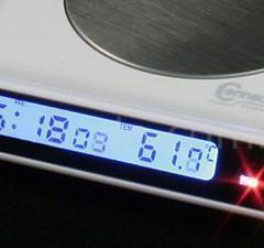 Aquecedor de Caneca da Brando Agora com Relógio e Hub USB