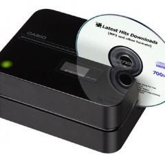 Impressora de CDs e DVDs da Casio