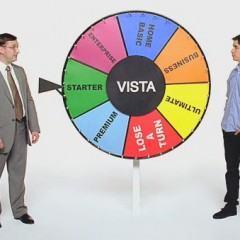 """Novos Comerciais """"Get a Mac"""" Pegam no Pé do Windows Vista"""