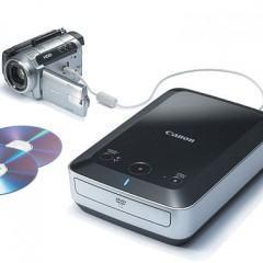 Canon DW-100, Um Gravador de DVDs Externo Autônomo