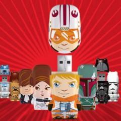Novos Mimobots Star Wars: Luke, Lea, Han Solo e Boba Fett!!!