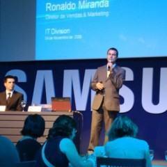 DD no lançamento dos primeiros Notebooks e Netbooks da Samsung no Brasil