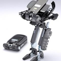 Conceito: Um Celular que se Transforma em um Robô!