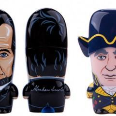 Abraham Lincoln e George Washington viram Mimobots!