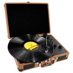 Turntable da Pyle Audio vira uma maleta