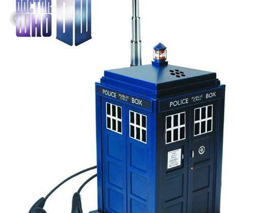 Doctor Who TARDIS Rádio AM/FM