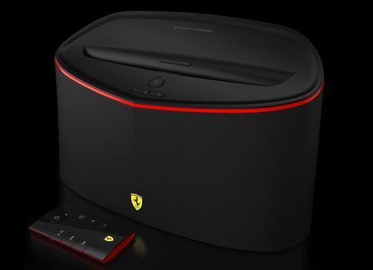 Scuderia FS1 Air da Logic3, caixa de som sem fio com design inspirado na Ferrari
