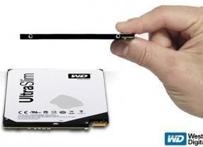 Novo Disco Rígido Western Digital com 5 mm de Espessura e 500GB de Espaço