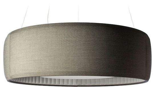 Shhh! Silenzio, uma luminária que absorve ruídos para deixar sua casa mais silenciosa
