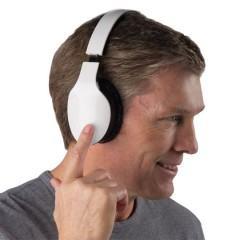 Fone de Ouvido Bluetooth com Touchpad (Sem Botões)