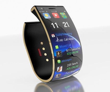 EmoPulse Smile, Um Bracelete Smartphone com Touchscreen Flexível