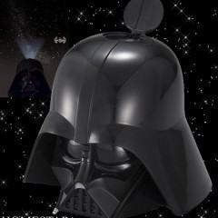 Darth Vader Planetarium Projeta Estrelas e TIE Fighter