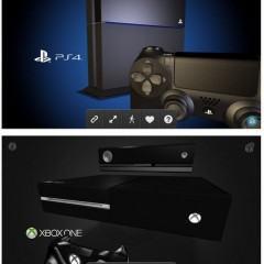 Confira modelos em 3D dos novos consoles Xbox One e PS4!