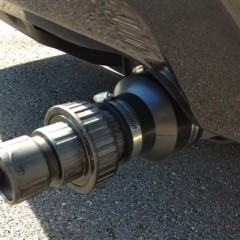 CO2ube, um filtro de gás carbônico para o cano de descarga do seu carro