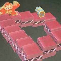 Donkey Kong encontra M.C. Escher