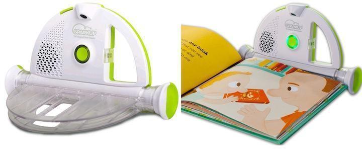 Com o Sparkup Reader você pode ler histórias para as crianças dormirem mesmo quando estiver viajando