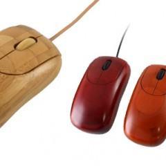 Mouse Ecológico Feito de Bambu