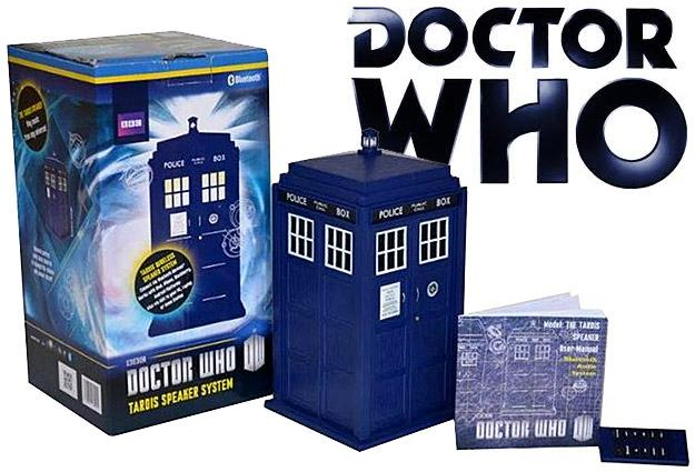 Doctor Who TARDIS Caixa de Som Bluetooth