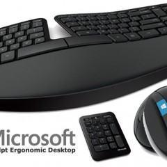 Novos Teclado e Mouse Ergonômicos da Microsoft: Sculpt Ergonomic Desktop