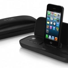 Caixa de som dobrável com dock para iPhone 5 da TDK