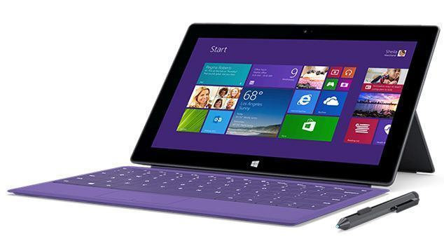 Surface Pro 2 com processador Haswell, até 8 GB de RAM e SSD de até 512 GB