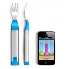 Hapifork, um garfo que te avisa se você está comendo rápido demais
