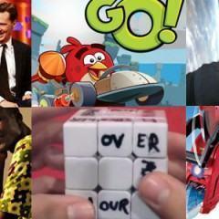 O melhor dos blogs: Harrison Ford e Benedict Cumberbatch, Angry Birds Go!, Impressora 3D de lixo eletrônico, Gravity em 3D e mais!
