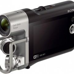Sony Music Video Recorder, uma câmera de vídeo Full HD com microfone X-Y