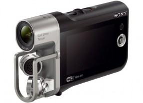 Sony Music Video Recorder, uma câmera de vídeo Full HD com microfone X-Y