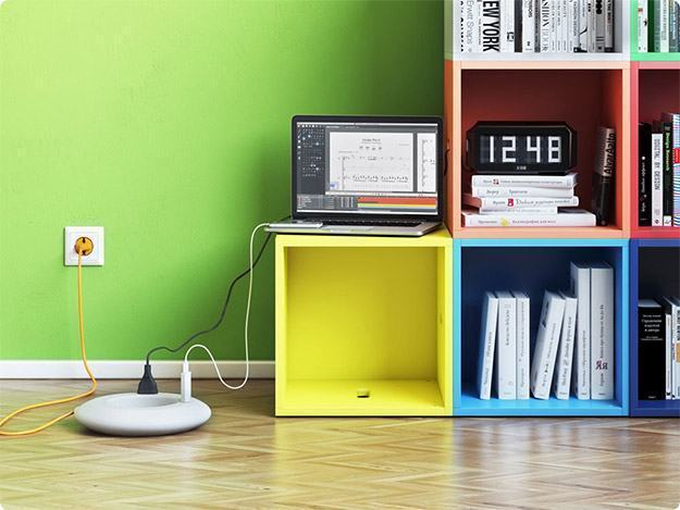 Rozetkus Bublikus Power Strip – Filtro de Linha Circular do Art Lebedev Studio