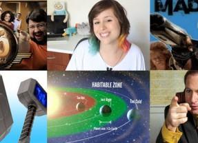 O melhor dos blogs, vlogs ou podcasts: Pessoas inspiradoras, meia-entrada é uma vergonha, Mad Max, martelo Mjölnir, Better Call Saul, e muitos planetas habitáveis!