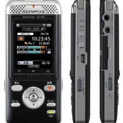 Olympus Voice-Trek DS-901, um gravador de áudio com Wi-Fi que pode ser acionado pelo smartphone