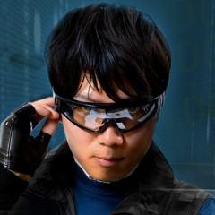 Óculos com câmera de vídeo de 5 megapixels