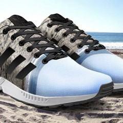 Imprimindo suas fotos do Instagram em tênis Adidas