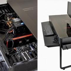 Com esse case de computador, você pode jogar sua mesa fora