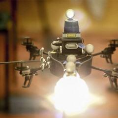 Drones do MIT para fotógrafos garantem uma iluminação perfeita