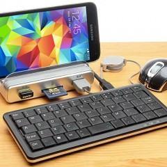 Acessório com três portas USB 3.0 transforma seu smartphone em um pequeno computador