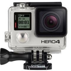 Câmeras Go Pro Hero4 Black e Hero4 Silver gravam vídeos em 4K