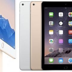 iPad Air 2 com TouchID: menor, mais leve e tão fino quanto potente