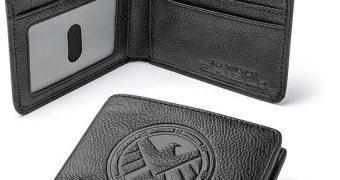 Carteira Agentes da S.H.I.E.L.D. com bloqueador RFID