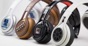 Novos fones SMS Audio Star Wars: Darth Vader, Chewbacca, R2-D2 e Tie Fighter