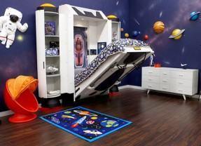 Spaceship Bed, uma cama para pequenos astronautas!