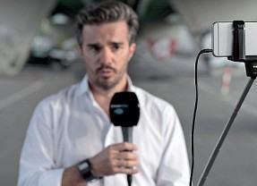 Estação de TV na Suíça troca câmeras profissionais por iPhones