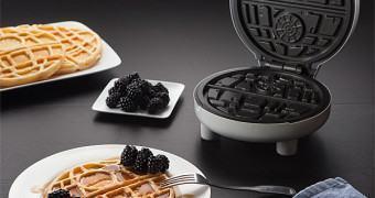 Uma máquina de Waffle da Estrela da Morte para a alegria dos fanáticos por Star Wars!