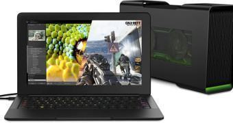 Notebook gamer Razer Blade Stealth e dock para GPU Razer Core