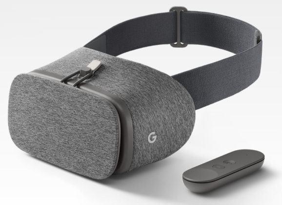 Daydream View, finalmente um headset VR do Google que não é feito de papelão