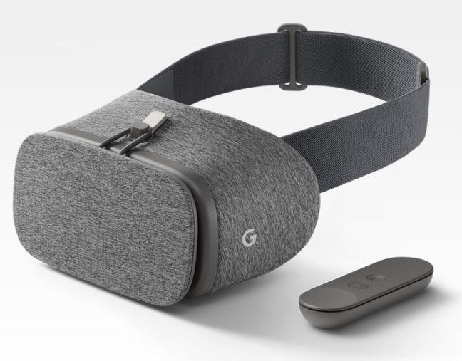 Image result for VR headset by google