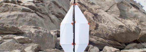 Uma turbina de vento portátil
