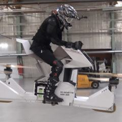 Hoversurf Scorpion 3, a primeira hoverbike do mundo!