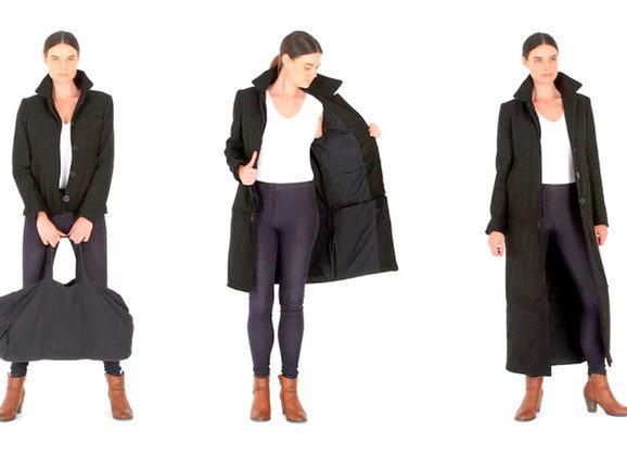 """""""Airport Jacket"""", uma jaqueta com muitos bolsos para levar o que você quiser"""